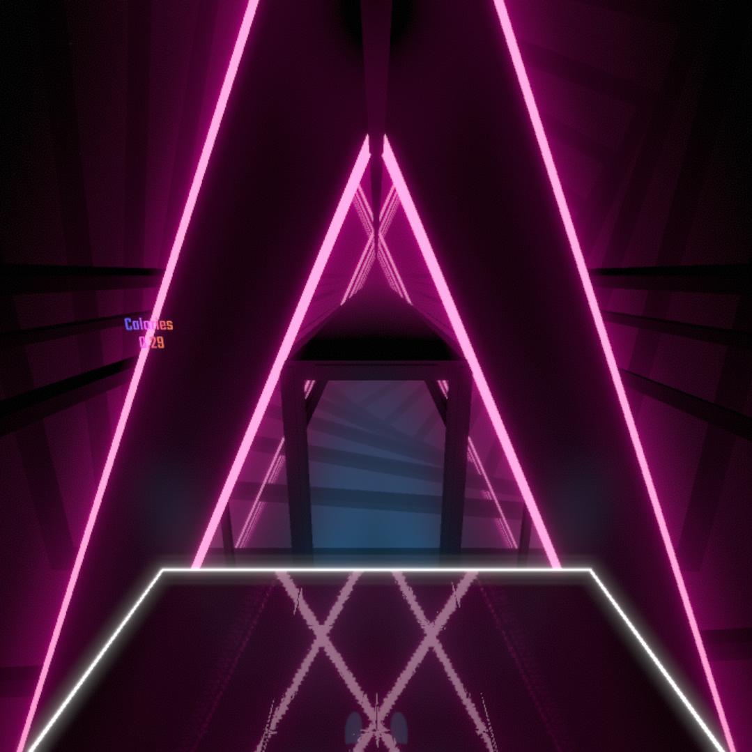 Neon Pillars