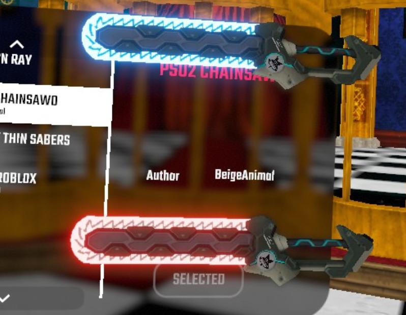 دانلود مدل شمشیر Chainsawd برای بازی بیت سیبر Beat Saber