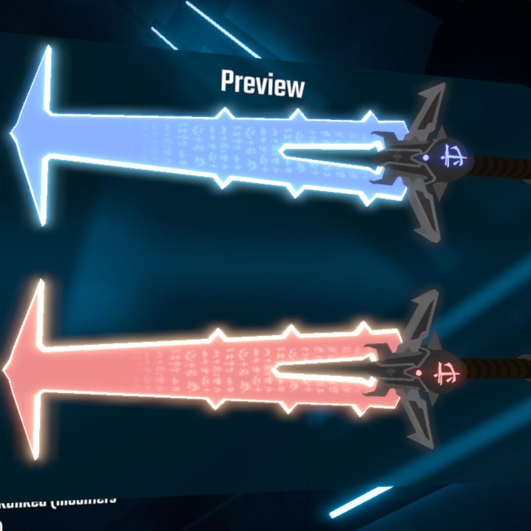 دانلود مدل شمشیر Doom_Crucibles برای بازی بیت سیبر Beat Saber