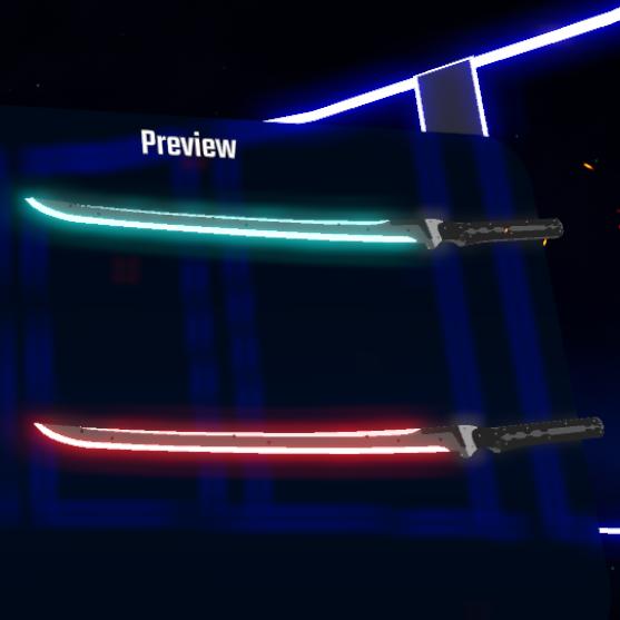 دانلود مدل شمشیر HF Sword Particle Overdrive Edition برای بازی بیت سیبر Beat Saber
