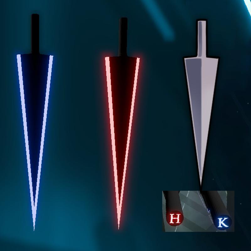 دانلود مدل شمشیر Sharpened Nail Public برای بازی بیت سیبر Beat Saber