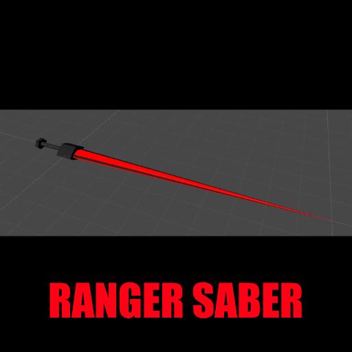 Sci-Fi Ranger Saber