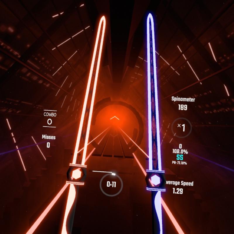 Neon Gem Swords