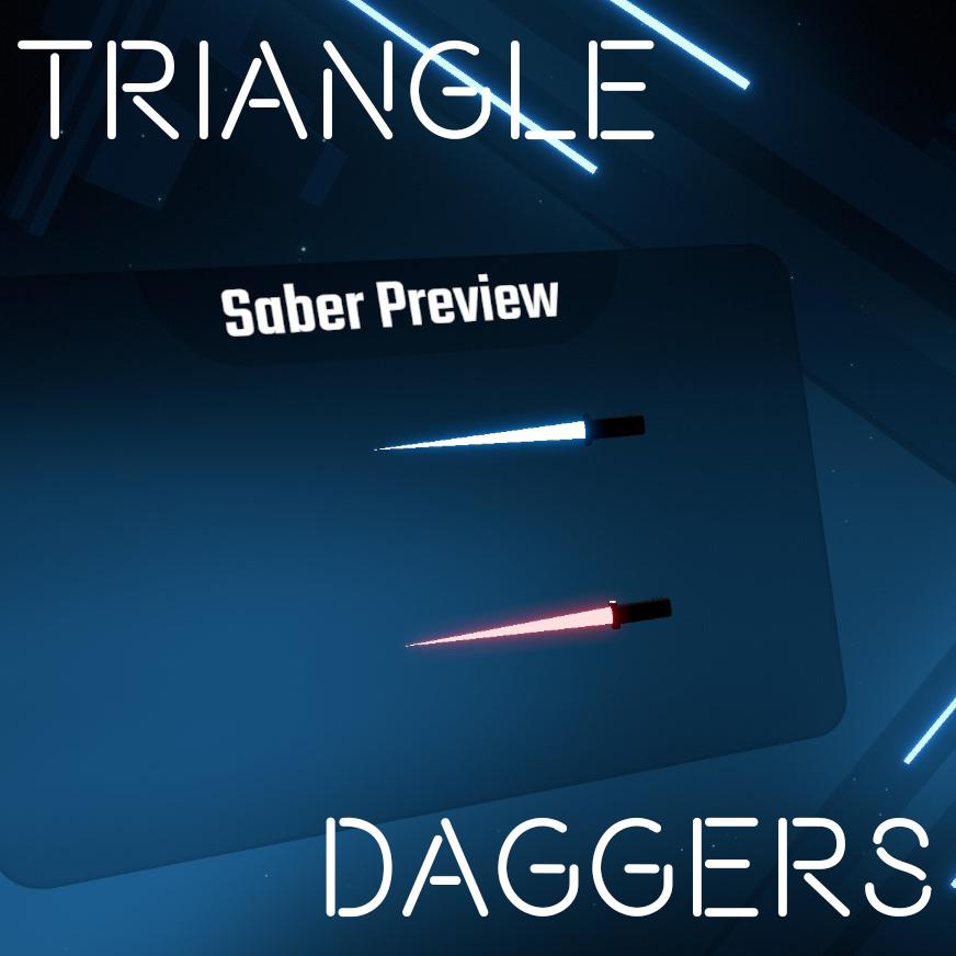 Triangle Daggers