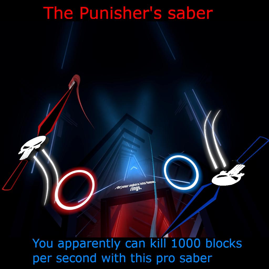 Punisher's saber