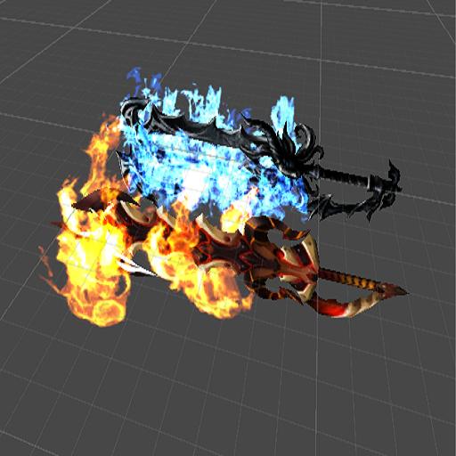 Fire Element Keyblade