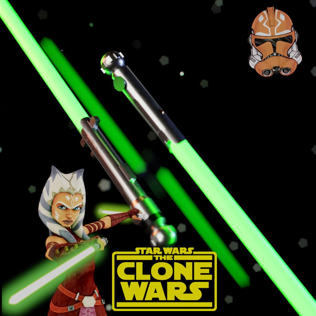 Ashoka Tano's sabers (Clone Wars)