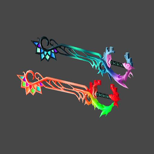 Riku's & Sora's Keyblade