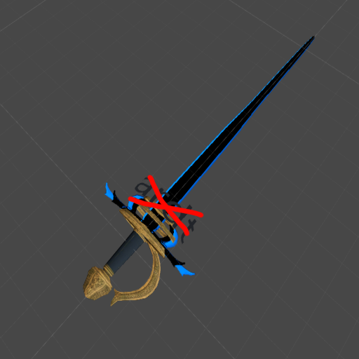 Miraz Sword (Inverted) No Text